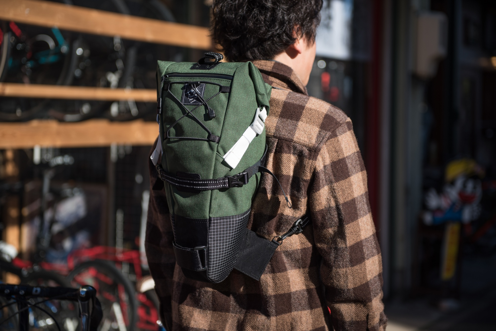 RawLowMountainWorks Bike'n Hike Bag