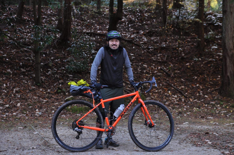 Outdoor Specialist got his new bike...