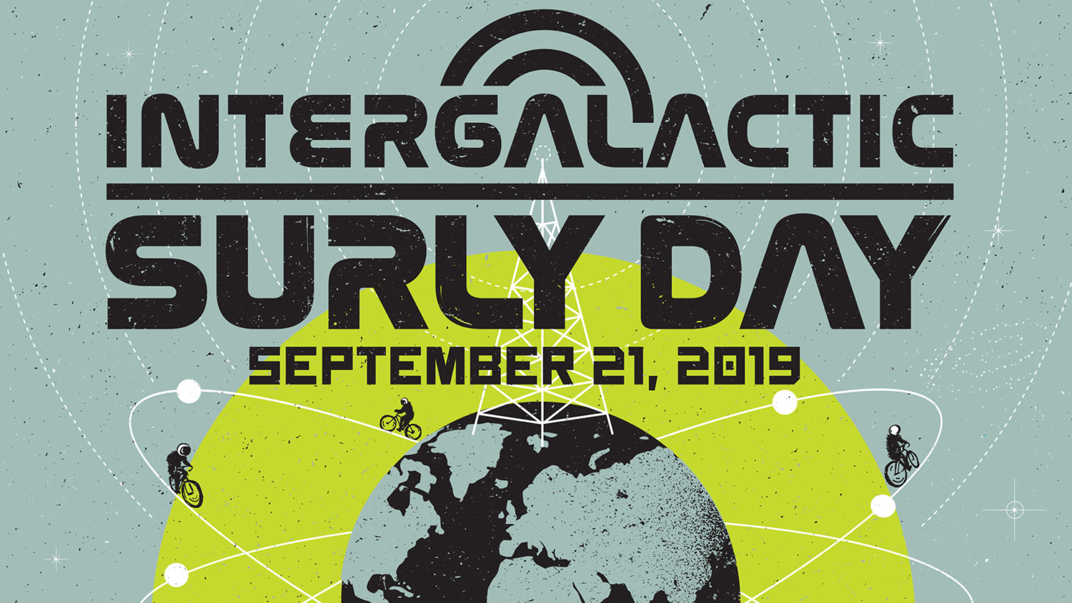 Intergalactic Surly Day By Circles