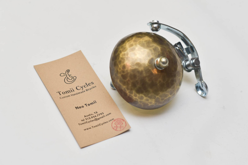 TomiiCycles Hammered Brass Bell