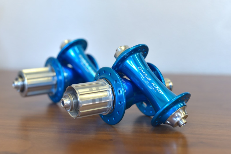 Chris King R45 Road Hub Turquoise